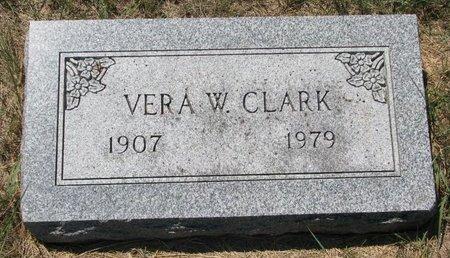 CLARK, VERA W. - Turner County, South Dakota | VERA W. CLARK - South Dakota Gravestone Photos