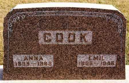 COOK, ANNA - Turner County, South Dakota | ANNA COOK - South Dakota Gravestone Photos