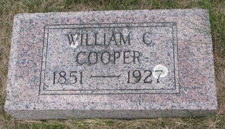 COOPER, WILLIAM C. - Turner County, South Dakota   WILLIAM C. COOPER - South Dakota Gravestone Photos