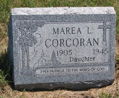 CORCORAN, MAREA L. - Turner County, South Dakota | MAREA L. CORCORAN - South Dakota Gravestone Photos