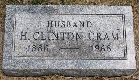 CRAM, H. CLINTON - Turner County, South Dakota | H. CLINTON CRAM - South Dakota Gravestone Photos