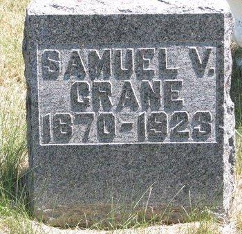 CRANE, SAMUEL V. - Turner County, South Dakota   SAMUEL V. CRANE - South Dakota Gravestone Photos