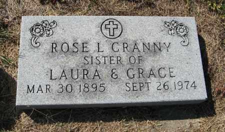CRANNY, ROSE L. - Turner County, South Dakota   ROSE L. CRANNY - South Dakota Gravestone Photos