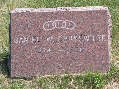 CROSSWHITE, DANIEL W. - Turner County, South Dakota | DANIEL W. CROSSWHITE - South Dakota Gravestone Photos