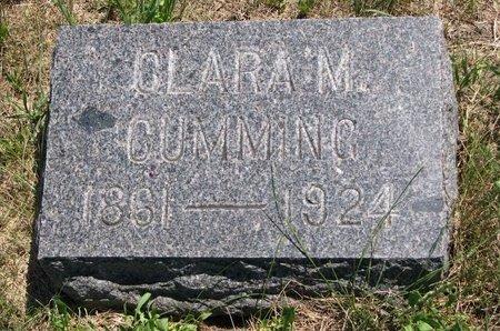 CUMMING, CLARA M. - Turner County, South Dakota   CLARA M. CUMMING - South Dakota Gravestone Photos