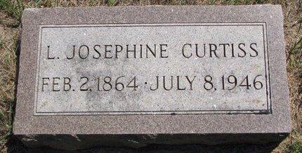 CURTISS, L. JOSEPHINE - Turner County, South Dakota | L. JOSEPHINE CURTISS - South Dakota Gravestone Photos