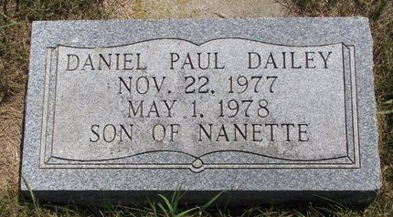 DAILEY, DANIEL PAUL - Turner County, South Dakota | DANIEL PAUL DAILEY - South Dakota Gravestone Photos