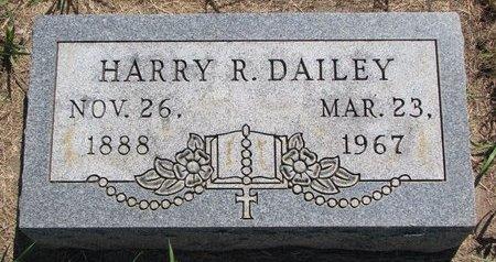 DAILEY, HARRY R. - Turner County, South Dakota | HARRY R. DAILEY - South Dakota Gravestone Photos