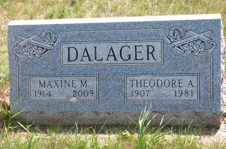 DALAGER, THEODORE ALFRED - Turner County, South Dakota | THEODORE ALFRED DALAGER - South Dakota Gravestone Photos