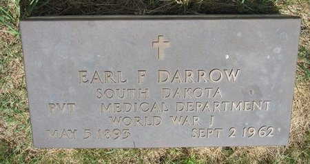 DARROW, EARL F. - Turner County, South Dakota | EARL F. DARROW - South Dakota Gravestone Photos