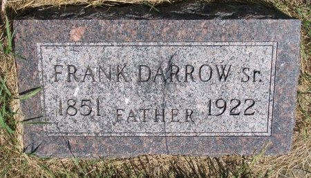 DARROW, FRANK SR. - Turner County, South Dakota   FRANK SR. DARROW - South Dakota Gravestone Photos