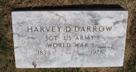 DARROW, HARVEY D. - Turner County, South Dakota   HARVEY D. DARROW - South Dakota Gravestone Photos