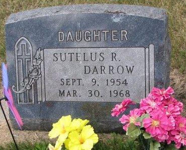 DARROW, SUTELUS R. - Turner County, South Dakota   SUTELUS R. DARROW - South Dakota Gravestone Photos