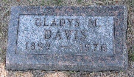 DAVIS, GLADYS M. - Turner County, South Dakota   GLADYS M. DAVIS - South Dakota Gravestone Photos