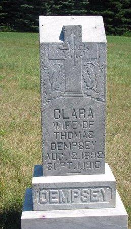 DEMPSEY, CLARA - Turner County, South Dakota   CLARA DEMPSEY - South Dakota Gravestone Photos