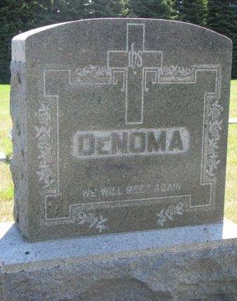 DENOMA, *FAMILY MONUMENT - Turner County, South Dakota | *FAMILY MONUMENT DENOMA - South Dakota Gravestone Photos