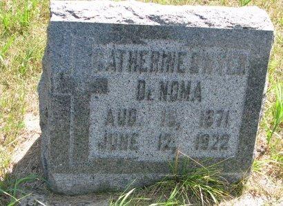DENOMA, CATHERINE - Turner County, South Dakota | CATHERINE DENOMA - South Dakota Gravestone Photos