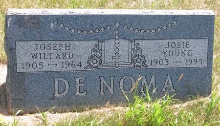 DENOMA, JOSEPH WILLARD - Turner County, South Dakota | JOSEPH WILLARD DENOMA - South Dakota Gravestone Photos