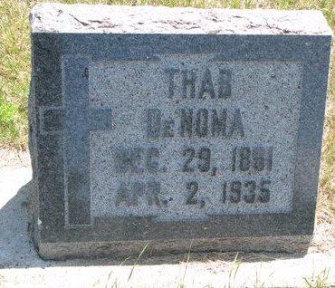 DENOMA, THAB - Turner County, South Dakota   THAB DENOMA - South Dakota Gravestone Photos