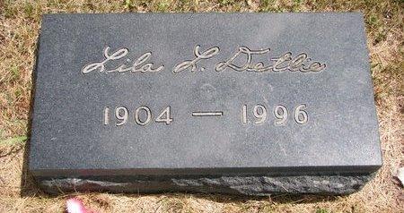 DETLIE, LILA L. - Turner County, South Dakota   LILA L. DETLIE - South Dakota Gravestone Photos