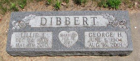 DIBBERT, LILLIE I. - Turner County, South Dakota | LILLIE I. DIBBERT - South Dakota Gravestone Photos
