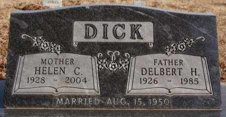 DICK, DELBERT H - Turner County, South Dakota | DELBERT H DICK - South Dakota Gravestone Photos