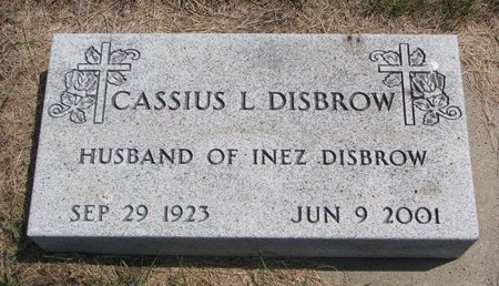 DISBROW, CASSIUS LEO - Turner County, South Dakota   CASSIUS LEO DISBROW - South Dakota Gravestone Photos