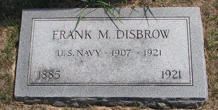 DISBROW, FRANK MATTHEW - Turner County, South Dakota | FRANK MATTHEW DISBROW - South Dakota Gravestone Photos