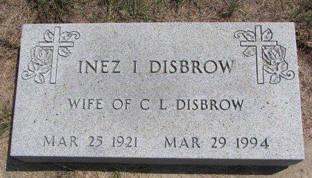 NELSON DISBROW, INEZ IRENE - Turner County, South Dakota   INEZ IRENE NELSON DISBROW - South Dakota Gravestone Photos