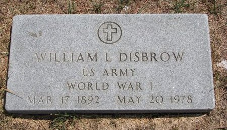DISBROW, WILLIAM LAWRENCE - Turner County, South Dakota   WILLIAM LAWRENCE DISBROW - South Dakota Gravestone Photos