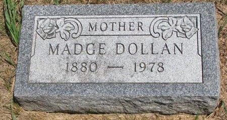 DOLLAN, MADGE - Turner County, South Dakota   MADGE DOLLAN - South Dakota Gravestone Photos