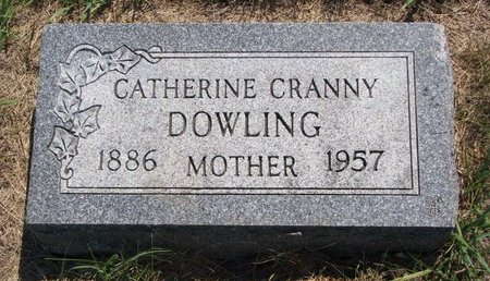 CRANNY DOWLING, CATHERINE - Turner County, South Dakota | CATHERINE CRANNY DOWLING - South Dakota Gravestone Photos