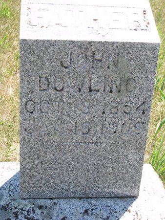 DOWLING, JOHN - Turner County, South Dakota   JOHN DOWLING - South Dakota Gravestone Photos