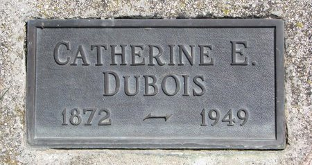 MYERS DUBOIS, CATHERINE ELVERA - Turner County, South Dakota   CATHERINE ELVERA MYERS DUBOIS - South Dakota Gravestone Photos