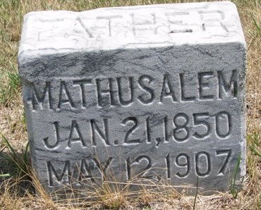 DUBOIS, MATHUSALEM - Turner County, South Dakota | MATHUSALEM DUBOIS - South Dakota Gravestone Photos