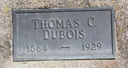 DUBOIS, THOMAS C. - Turner County, South Dakota | THOMAS C. DUBOIS - South Dakota Gravestone Photos
