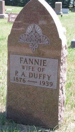 DUFFY, FANNIE - Turner County, South Dakota | FANNIE DUFFY - South Dakota Gravestone Photos