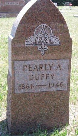 DUFFY, PEARLY A. - Turner County, South Dakota | PEARLY A. DUFFY - South Dakota Gravestone Photos