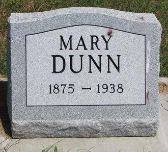 DUNN, MARY - Turner County, South Dakota | MARY DUNN - South Dakota Gravestone Photos