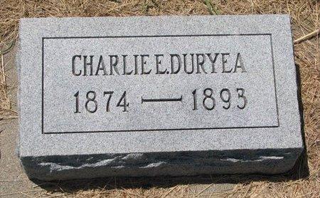 DURYEA, CHARLIE E. - Turner County, South Dakota | CHARLIE E. DURYEA - South Dakota Gravestone Photos