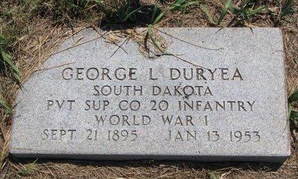 DURYEA, GEORGE L. - Turner County, South Dakota | GEORGE L. DURYEA - South Dakota Gravestone Photos