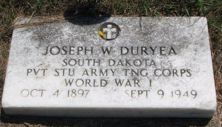 DURYEA, JOSEPH W. - Turner County, South Dakota | JOSEPH W. DURYEA - South Dakota Gravestone Photos