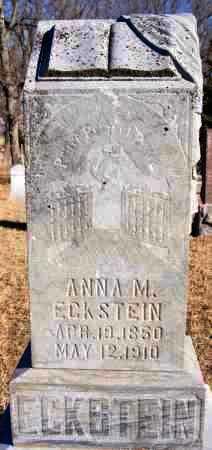 ECKSTEIN, ANNA M - Turner County, South Dakota | ANNA M ECKSTEIN - South Dakota Gravestone Photos