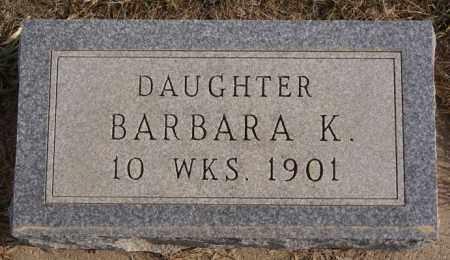 ECKSTEIN, BARBARA K. - Turner County, South Dakota | BARBARA K. ECKSTEIN - South Dakota Gravestone Photos