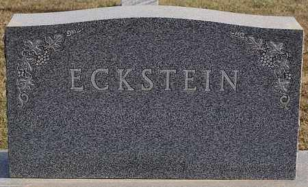 ECKSTEIN, FAMILY MARKER - Turner County, South Dakota   FAMILY MARKER ECKSTEIN - South Dakota Gravestone Photos