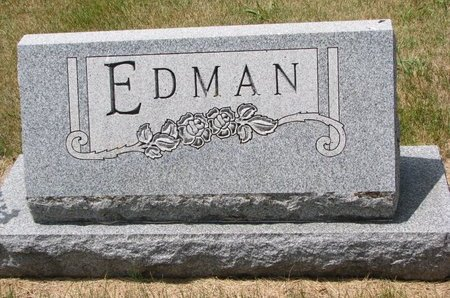 EDMAN, *FAMILY MONUMENT - Turner County, South Dakota   *FAMILY MONUMENT EDMAN - South Dakota Gravestone Photos