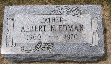 EDMAN, ALBERT N. - Turner County, South Dakota | ALBERT N. EDMAN - South Dakota Gravestone Photos