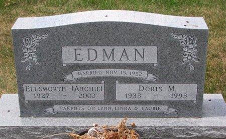 "EDMAN, ELLSWORTH C. ""ARCHIE"" - Turner County, South Dakota   ELLSWORTH C. ""ARCHIE"" EDMAN - South Dakota Gravestone Photos"