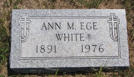 EGE, ANN M. - Turner County, South Dakota | ANN M. EGE - South Dakota Gravestone Photos