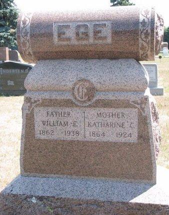 EGE, KATHARINE C. - Turner County, South Dakota | KATHARINE C. EGE - South Dakota Gravestone Photos